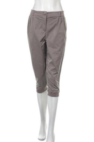 Γυναικείο παντελόνι IX-O, Μέγεθος L, Χρώμα Γκρί, Πολυεστέρας, Τιμή 5,46€