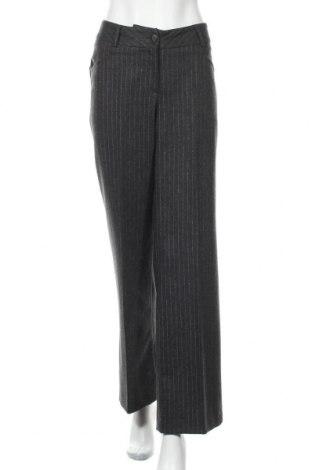 Дамски панталон Madeleine, Размер L, Цвят Сив, 59% вълна, 39% полиестер, 2% еластан, Цена 52,00лв.