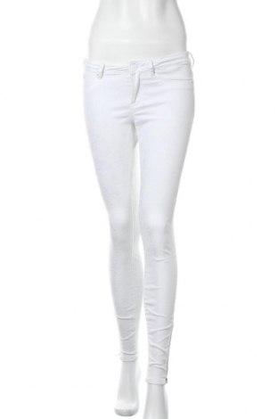 Γυναικείο παντελόνι Maison Scotch, Μέγεθος S, Χρώμα Λευκό, 77% βαμβάκι, 22% πολυεστέρας, 1% ελαστάνη, Τιμή 13,18€