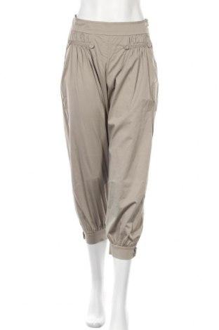 Дамски панталон Max&Co., Размер S, Цвят Бежов, 97% памук, 3% еластан, Цена 27,55лв.