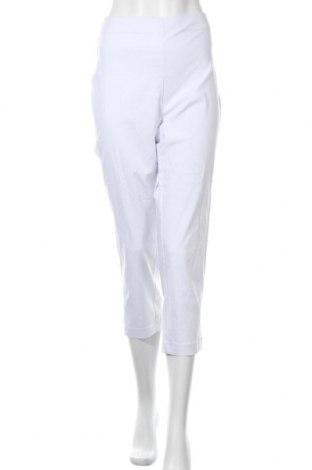 Дамски панталон Navigazione, Размер XL, Цвят Бял, 67% вискоза, 30% полиамид, 3% еластан, Цена 28,67лв.