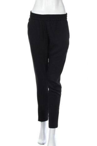 Дамски панталон Pinko, Размер M, Цвят Черен, 65% ацетат, 35% вискоза, Цена 45,68лв.