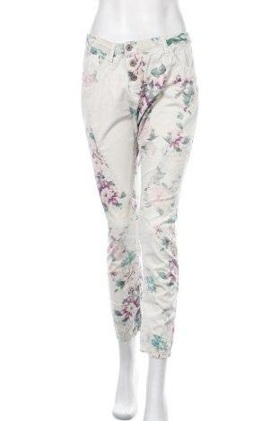 Дамски панталон Please, Размер S, Цвят Многоцветен, 97% памук, 3% еластан, Цена 11,17лв.