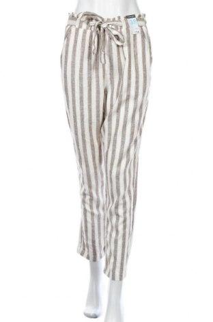 Дамски панталон Primark, Размер M, Цвят Кафяв, 55% лен, 45% вискоза, Цена 33,08лв.