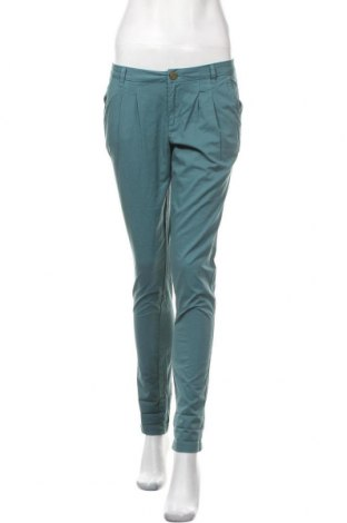Дамски панталон Promod, Размер S, Цвят Син, Памук, Цена 6,30лв.