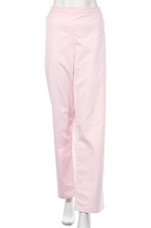 Дамски панталон Raphaela By Brax, Размер 3XL, Цвят Розов, 97% памук, 3% еластан, Цена 30,87лв.