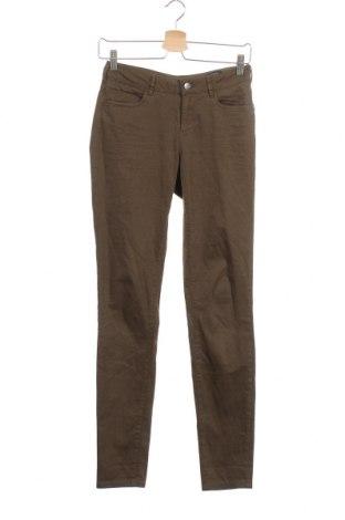 Γυναικείο παντελόνι Maison Scotch, Μέγεθος XS, Χρώμα Πράσινο, 70% βαμβάκι, 27% μοντάλ, 3% ελαστάνη, Τιμή 22,09€