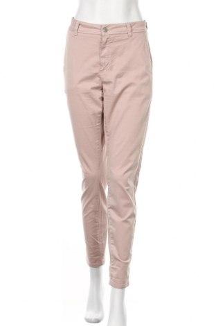 Дамски панталон Selected Femme, Размер L, Цвят Розов, 96% памук, 4% еластан, Цена 26,25лв.