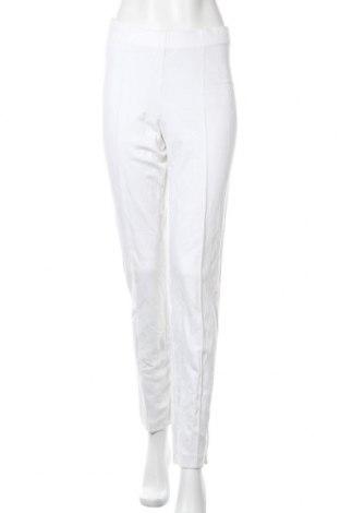 Дамски панталон Sommermann, Размер M, Цвят Бял, 71% вискоза, 23% полиамид, 6% еластан, Цена 16,54лв.