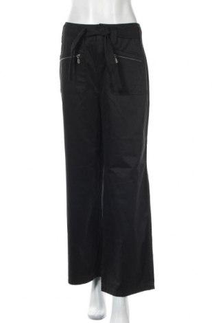 Дамски панталон Spengler, Размер L, Цвят Черен, 44% полиестер, 37% памук, 19% полиамид, Цена 8,32лв.