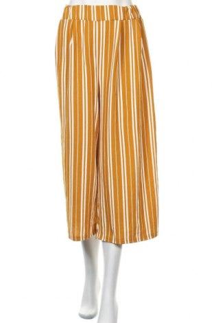 Γυναικείο παντελόνι Temt, Μέγεθος XL, Χρώμα Κίτρινο, 97% πολυεστέρας, 3% ελαστάνη, Τιμή 14,03€