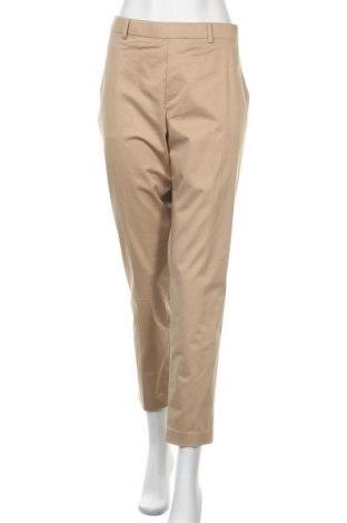 Дамски панталон Uniqlo, Размер XL, Цвят Бежов, 72% памук, 22% вискоза, 6% еластан, Цена 17,64лв.