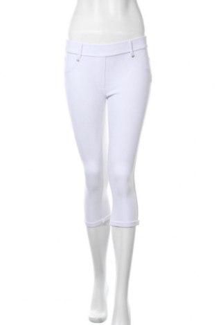 Γυναικείο παντελόνι Vert De Rage, Μέγεθος S, Χρώμα Λευκό, 95% πολυεστέρας, 5% ελαστάνη, Τιμή 14,03€