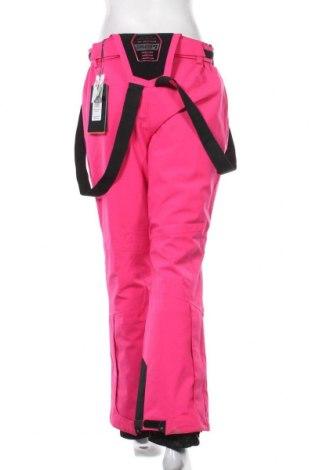 Дамски панталон за зимни спортове Killtec, Размер M, Цвят Розов, Полиестер, Цена 44,70лв.