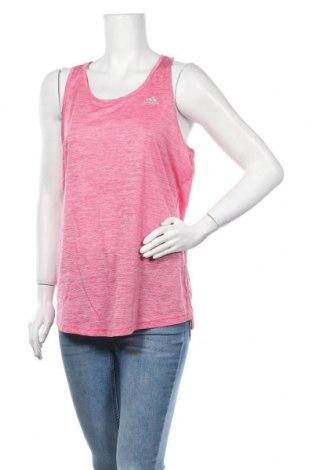 Γυναικείο αμάνικο μπλουζάκι Adidas, Μέγεθος XL, Χρώμα Ρόζ , Πολυεστέρας, Τιμή 13,19€