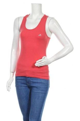 Γυναικείο αμάνικο μπλουζάκι Adidas, Μέγεθος M, Χρώμα Ρόζ , Τιμή 8,64€