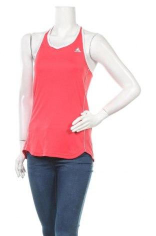 Γυναικείο αμάνικο μπλουζάκι Adidas, Μέγεθος M, Χρώμα Ρόζ , Τιμή 13,25€