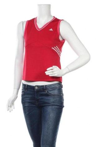 Γυναικείο αμάνικο μπλουζάκι Adidas, Μέγεθος M, Χρώμα Ρόζ , Πολυεστέρας, Τιμή 8,64€