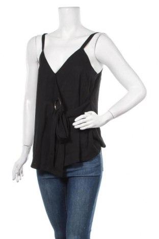 Γυναικείο αμάνικο μπλουζάκι Biba, Μέγεθος M, Χρώμα Μαύρο, Τιμή 8,71€