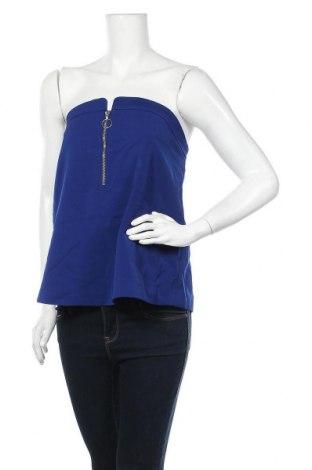 Γυναικείο αμάνικο μπλουζάκι C/MEO Collective, Μέγεθος XL, Χρώμα Μπλέ, Πολυεστέρας, Τιμή 22,51€