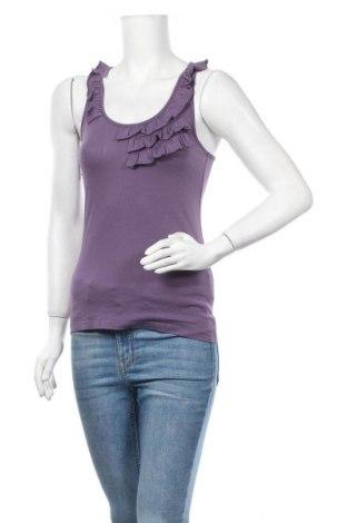 Дамски потник De.corp By Esprit, Размер S, Цвят Лилав, 50% памук, 50% модал, Цена 4,46лв.
