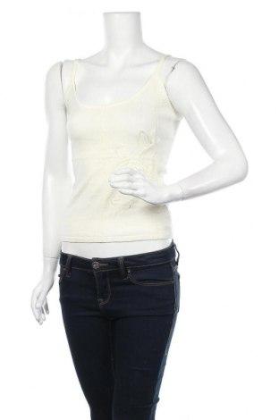 Γυναικείο αμάνικο μπλουζάκι Jones, Μέγεθος S, Χρώμα Εκρού, 60% βισκόζη, 40% βαμβάκι, Τιμή 7,27€