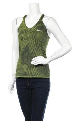 Γυναικείο αμάνικο μπλουζάκι Nike, Μέγεθος S, Χρώμα Πράσινο, 92% πολυεστέρας, 8% ελαστάνη, Τιμή 18,19€