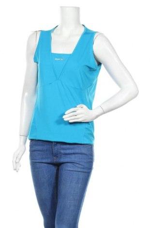 Γυναικείο αμάνικο μπλουζάκι Rbx, Μέγεθος XL, Χρώμα Μπλέ, Τιμή 6,07€