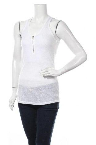 Γυναικείο αμάνικο μπλουζάκι Vert De Rage, Μέγεθος M, Χρώμα Λευκό, Πολυεστέρας, Τιμή 3,12€