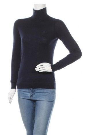 Дамски пуловер Lacoste, Размер M, Цвят Син, Цена 66,00лв.