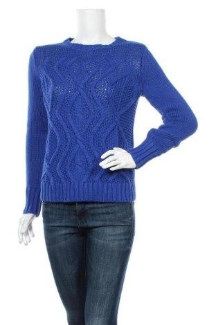Дамски пуловер Land's End, Размер XS, Цвят Син, Памук, Цена 23,60лв.