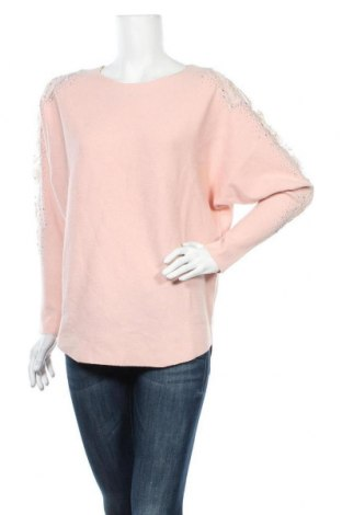 Дамски пуловер Quiz, Размер S, Цвят Розов, 50% вискоза, 28% полиестер, 22% полиамид, Цена 29,76лв.
