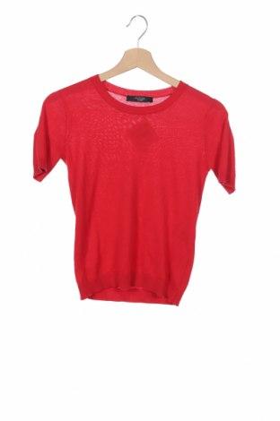 Γυναικείο πουλόβερ Weekend Max Mara, Μέγεθος XS, Χρώμα Κόκκινο, 55% μετάξι, 45% βαμβάκι, Τιμή 62,77€