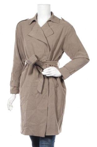 Дамски шлифер, Размер M, Цвят Зелен, 93% вискоза, 7% полиестер, Цена 23,94лв.