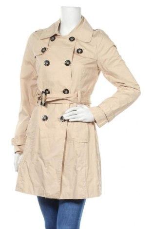 Дамски шлифер Pepe Jeans, Размер S, Цвят Бежов, Памук, Цена 47,60лв.