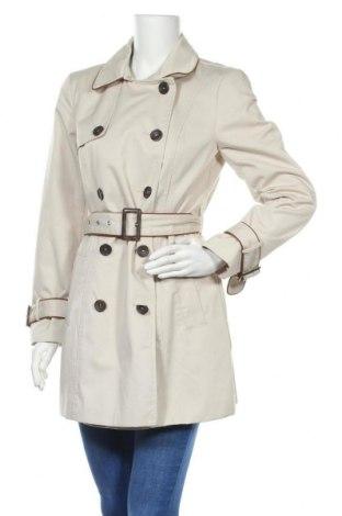 Дамски шлифер Vero Moda, Размер M, Цвят Бежов, 80% полиестер, 20% памук, Цена 41,30лв.