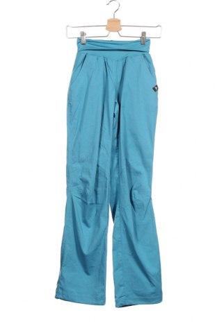 Γυναικείο αθλητικό παντελόνι Adidas, Μέγεθος XS, Χρώμα Μπλέ, 57% βαμβάκι, 40% πολυεστέρας, 3% ελαστάνη, Τιμή 8,37€