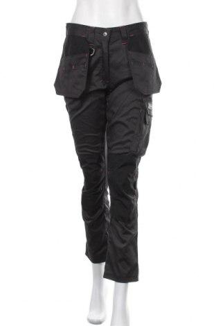 Γυναικείο αθλητικό παντελόνι Dunlop, Μέγεθος M, Χρώμα Μαύρο, 64% πολυεστέρας, 33% βαμβάκι, 3% ελαστάνη, Τιμή 15,30€