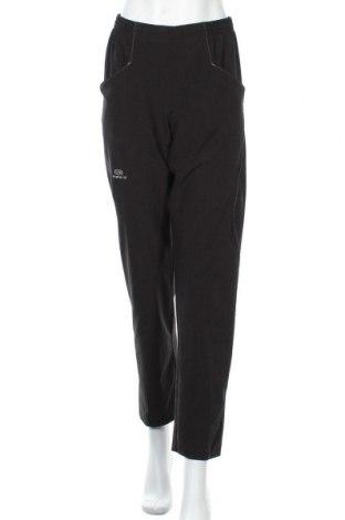 Дамски спортен панталон Kalenji, Размер S, Цвят Черен, 88% полиестер, 12% еластан, Цена 27,67лв.