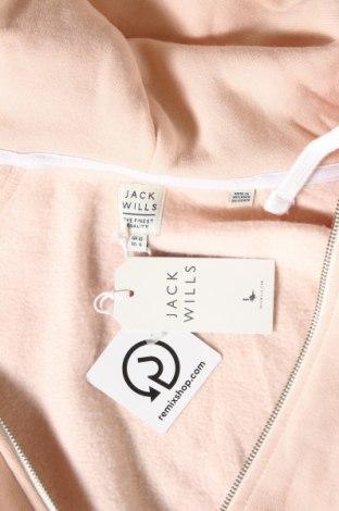 Дамски суичър Jack Wills, Размер M, Цвят Розов, 60% памук, 40% полиестер, Цена 30,34лв.