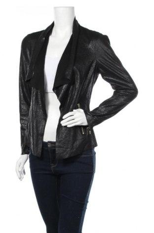 Γυναικείο δερμάτινο σακάκι Biba, Μέγεθος M, Χρώμα Μαύρο, Δερματίνη, Τιμή 43,30€