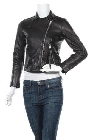 Γυναικείο δερμάτινο μπουφάν AllSaints, Μέγεθος S, Χρώμα Μαύρο, Γνήσιο δέρμα, Τιμή 181,92€
