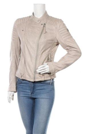 Γυναικείο δερμάτινο μπουφάν Gipsy, Μέγεθος M, Χρώμα Γκρί, Γνήσιο δέρμα, Τιμή 55,85€