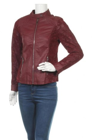 Γυναικείο δερμάτινο μπουφάν Koroshi, Μέγεθος M, Χρώμα Κόκκινο, Δερματίνη, Τιμή 33,49€