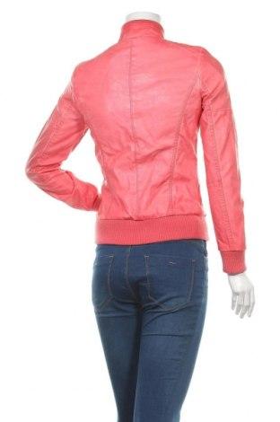 Дамско кожено яке Koroshi, Размер S, Цвят Розов, Еко кожа, Цена 35,60лв.