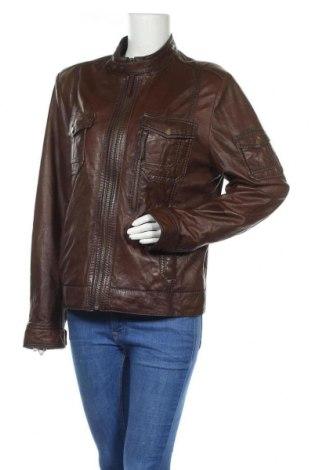 Дамско кожено яке Maddox, Размер XXL, Цвят Кафяв, Естествена кожа, Цена 92,40лв.