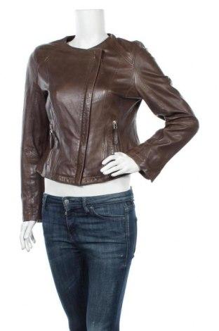 Дамско кожено яке Madeleine, Размер L, Цвят Кафяв, Естествена кожа, Цена 96,39лв.