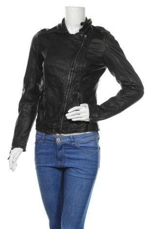 Γυναικείο δερμάτινο μπουφάν Oakwood, Μέγεθος S, Χρώμα Μαύρο, Γνήσιο δέρμα, Τιμή 100,21€
