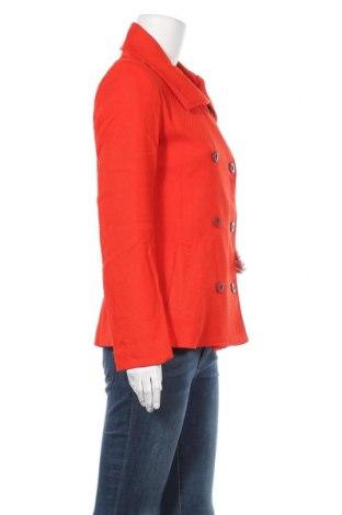 Дамско палто Desigual, Размер M, Цвят Оранжев, Памук, Цена 43,80лв.