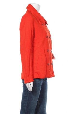 Дамско палто Desigual, Размер L, Цвят Оранжев, Памук, Цена 37,35лв.